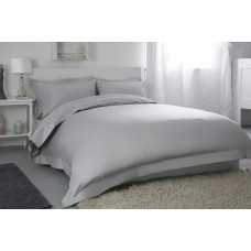 "Belledorm 400 Thread Count Egyptian Cotton 12"" Platinum Fitted Sheets"