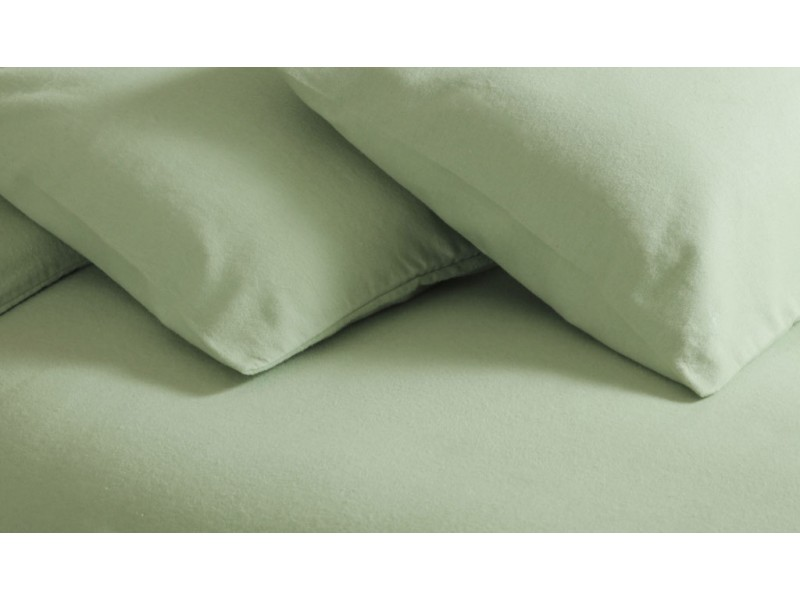 belledorm new brushed cotton apple green duvet covers. Black Bedroom Furniture Sets. Home Design Ideas