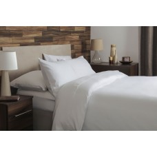 Belledorm New Brushed Cotton White Flat Sheets