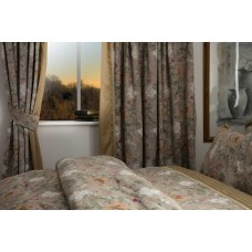 Country Dream Isabelle Curtains with Tie Backs