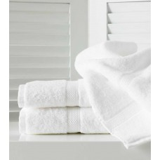 Belledorm Hotel Suite Madison 600gsm White Cotton Towels and Mat