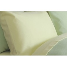 Belledorm New Brushed Cotton Lemon Flat Sheets