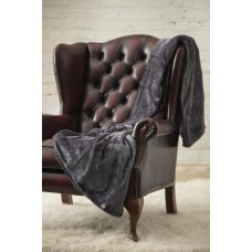 Heat Holders Luxury 1.7 tog Antique Silver Fleece Blankets