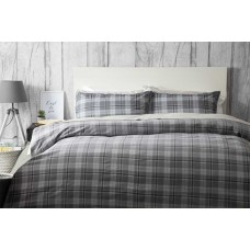 Belledorm Aspen Charcoal Duvet Cover Sets
