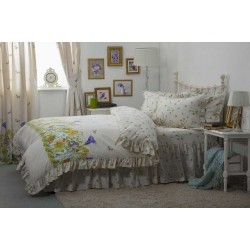 Country Dream Bluebell Meadow Bedlinen and Coordinates
