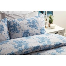 Belledorm Dahlia Blue Duvet Cover Sets