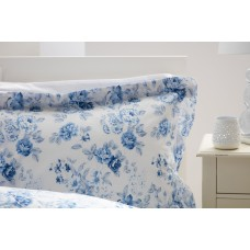Beau Sommeil by Belledorm Grace Blue Cotton Duvet Cover Sets