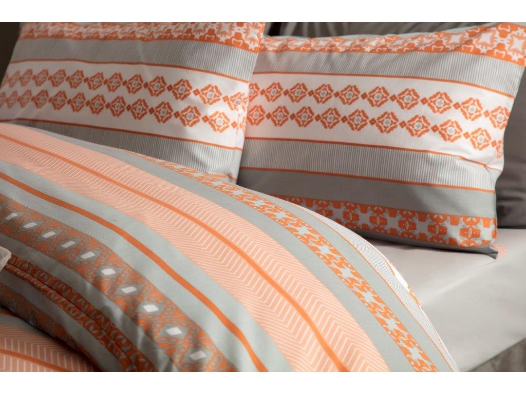 Belledorm Rahil Terracotta Duvet Cover Sets