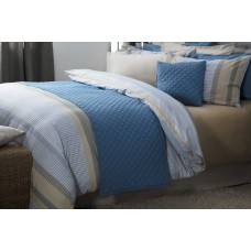 Belledorm Seville Cobalt Bed Runner and Cushion