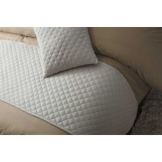 Belledorm Seville Mushroom Bed Runner and Cushion