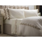 Maison Blanche New Annaya Gold Embroidered Pillowcase Pairs