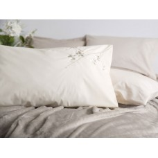 Beau Sommeil by Belledorm Raeya Oyster Cotton Duvet Cover Sets