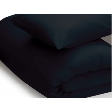 Belledorm 200 Thread Count Easy Care Black Duvet Covers