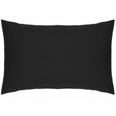 Belledorm 200 Thread Count Easy Care Black Pillowcases