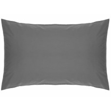 Belledorm 200 Thread Count Easy Care Grey Pillowcases