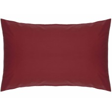 Belledorm 200 Thread Count Easy Care Red Pillowcases