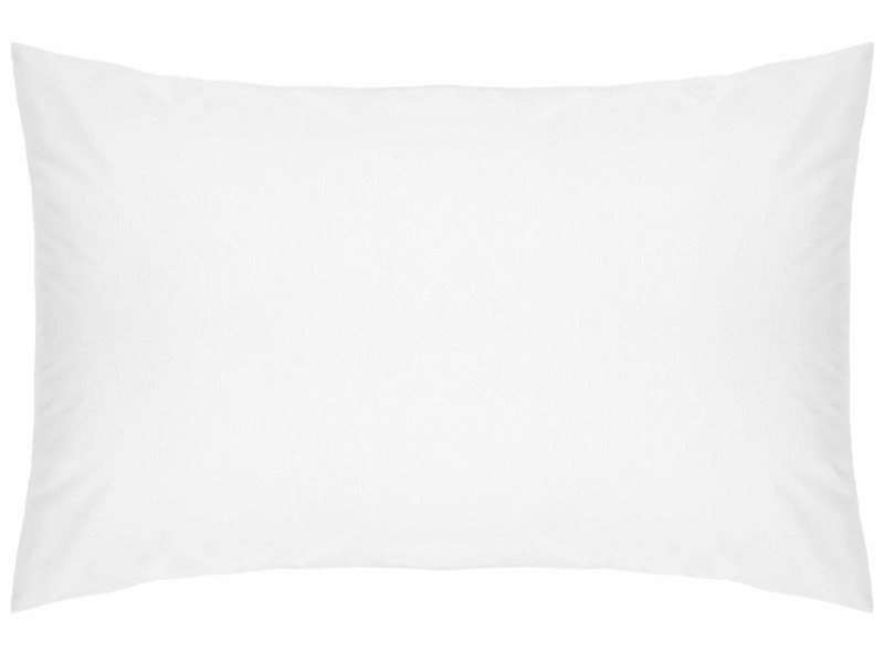 Belledorm 200 Thread Count Easy Care White Pillowcases