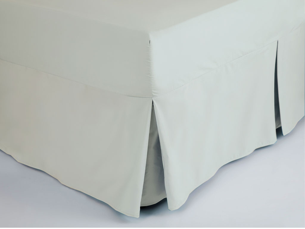 Easy Care Plain Dyed Base Valance Bed Sheet Percale Single Double King 28 Colour