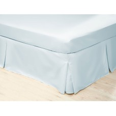 Belledorm 200 Thread Count Easy Care Duckegg Blue Pleated Platform Valances