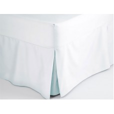 Belledorm 200 Thread Count Easy Care Duckegg Blue Fitted Sheet Valance