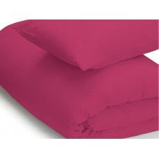 Belledorm 200 Thread Count Easy Care Fuchsia Duvet Covers