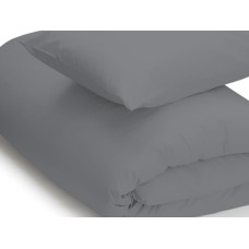 Belledorm 200 Thread Count Easy Care Grey Duvet Covers