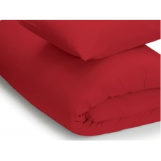 Belledorm 200 Thread Count Easy Care Red Duvet Covers