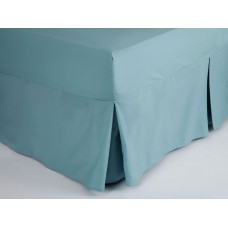 Belledorm 200 Thread Count Easy Care Teal Fitted Sheet Valance