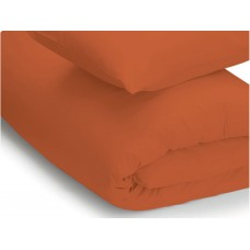 Belledorm 200 Thread Count Easy Care Terracotta Duvet Covers