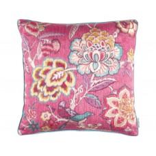 Sanderson Caspian Indra Flower Hibiscus Cushion