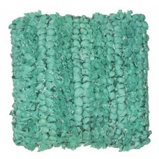 CIMC home Aqua Shaggy Plait Cushion