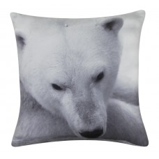 CIMC home Black And White Polar Bear Cushion