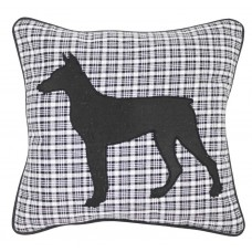 CIMC home Black And White Check Dog Cushion