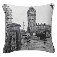CIMC home Black and White London Cushion