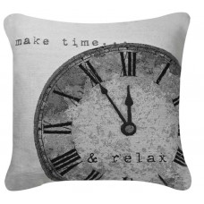 CIMC home Black and White Time Cushion