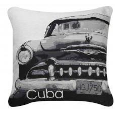 CIMC home Black and White Cuba Car Cushion