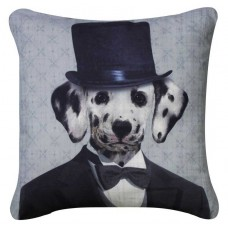 CIMC home Black and White Suit Dalmatian Cushion