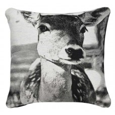 CIMC home Black and White Doe Cushion