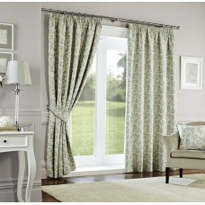 Curtina Oakhurst Pencil Pleat Duck Egg Curtains