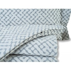Design Port New Hale Grey Woven Cotton Bedspreads