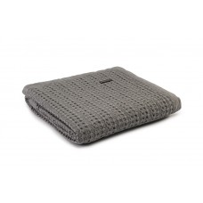 Design Port New Harris Grey Woven Cotton Throw