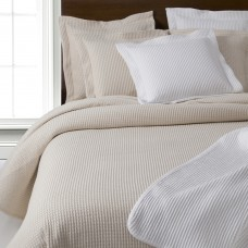 Design Port Ultra Soft Waffle Woven Cotton Cream Bedspreads