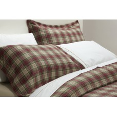 Design Port Winton Red Brushed Cotton Oxford Pillowcase