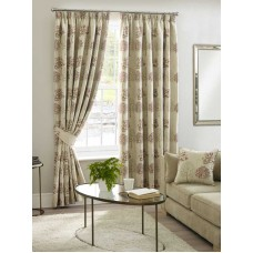 Design Studio Arden Chintz Pencil Pleat Lined Curtains