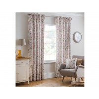 Design Studio New Everley Cinnamon Eyelet Lined Curtains
