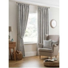 Design Studio Eden Eau De Nil Pencil Pleat Lined Curtains