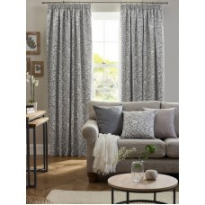 Design Studio Eleanor Dove Grey Pencil Pleat Lined Curtains
