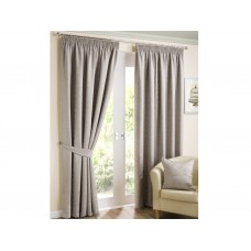Design Studio Elizabeth Stone Pencil Pleat Lined Curtains