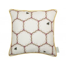 The Chateau by Angel Strawbridge Honeycomb Filled Cushion Cream