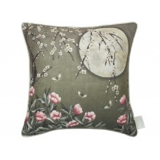 The Chateau by Angel Strawbridge Moonlight Moss Green Cushion